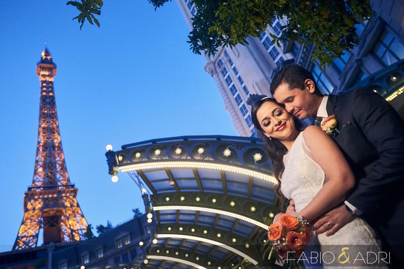 Paris Las Vegas Wedding Photos
