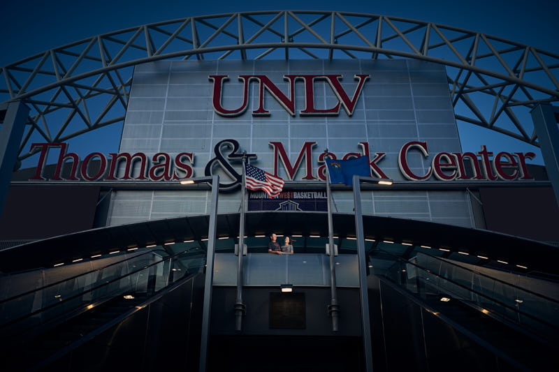 UNLV Thomas and Mack Engagement Session