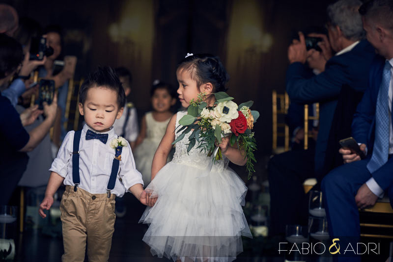 Flower Girl and Ring Bearer Hyde Bellagio Wedding