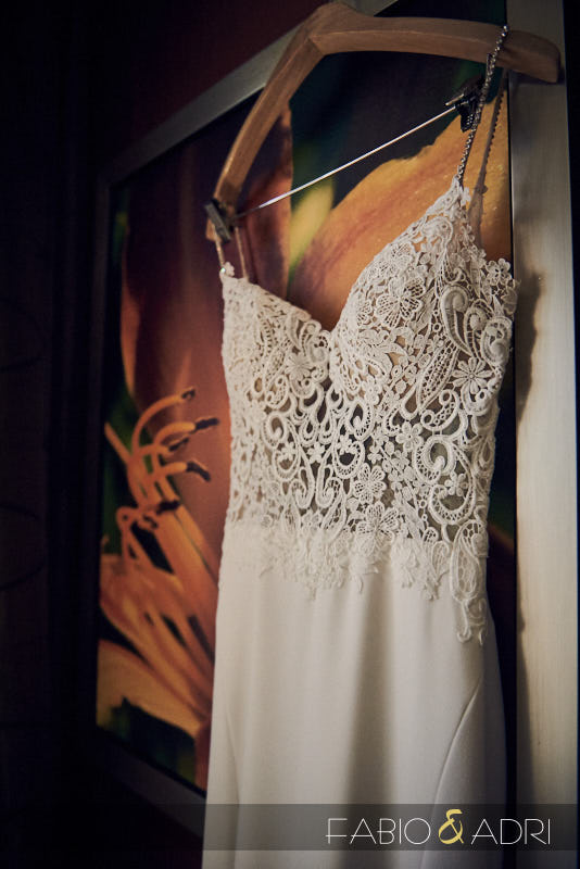 Bride Dress Hanging