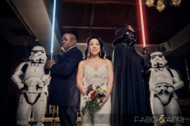 Star Wars Inspired Wedding At Hyde Bellagio Las Vegas – Karen & Dee