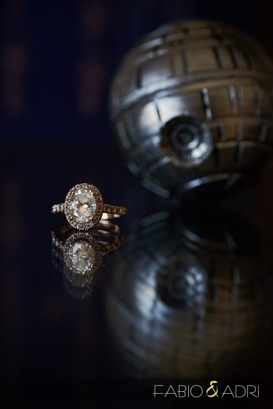 Ebgagement Ring by Death Star Globe