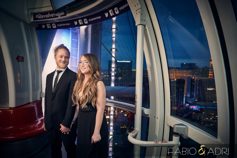 High Roller Observation Wheel Wedding las Vegas