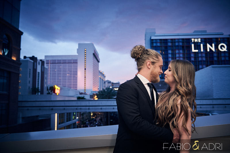 The Linq Elopement High Roller Las Vegas