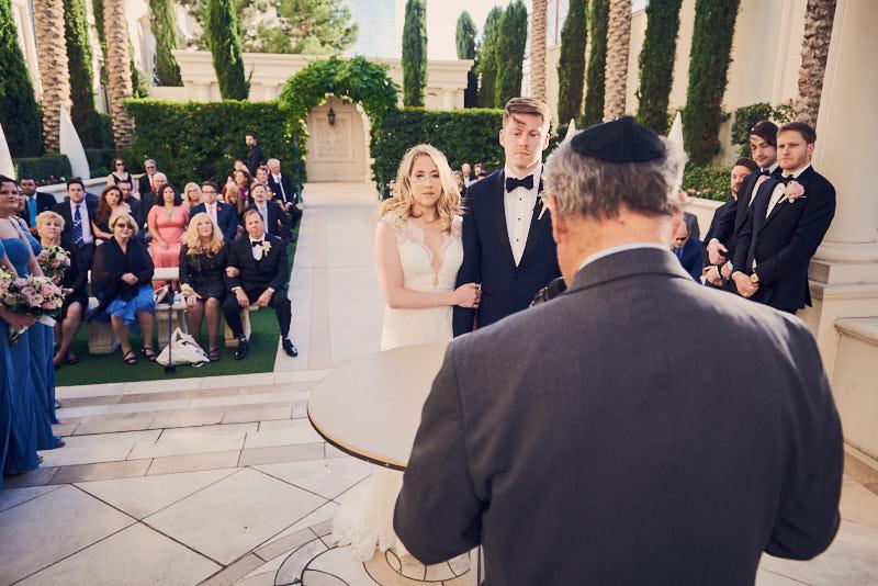 Wedding Ceremony Juno Garden Caesars Palace Las Vegas
