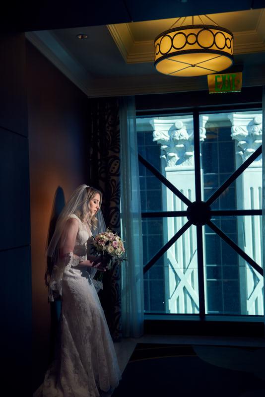 Bridal Portrait Caesras Palace Las Vegas