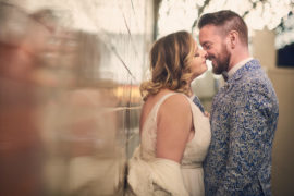 Fremont Street Wedding Photo Session – Taylor & Stuart