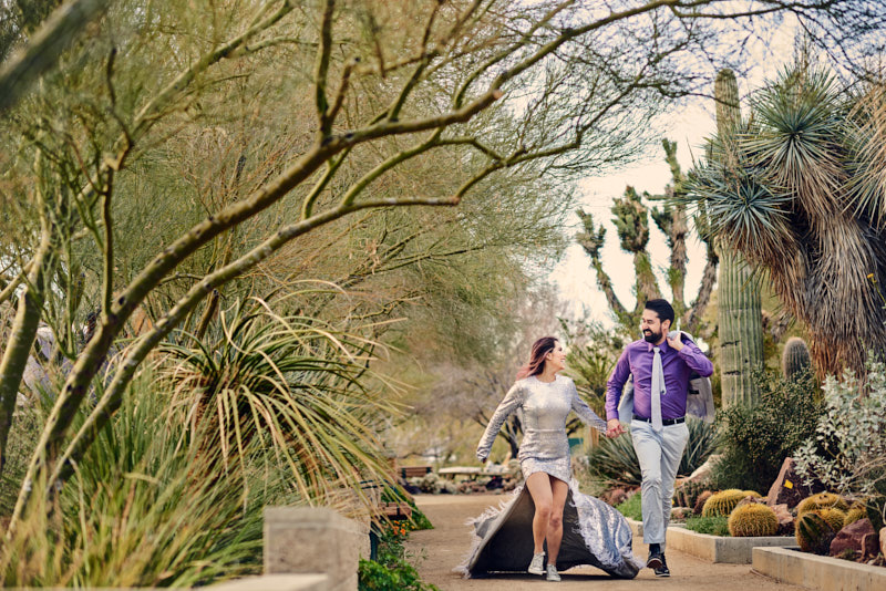 Anniversary Session at Springs Preserve