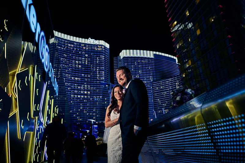 Wedding Portraits City Center Las Vegas