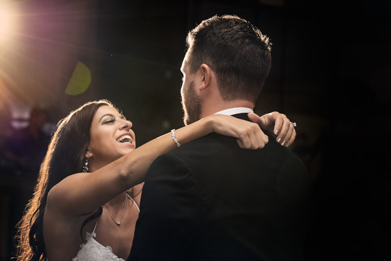 Bride and Groom First Dance Waldorf Astoria Las Vegas